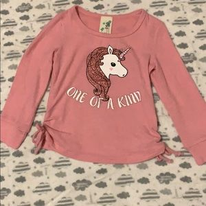 Unicorn girls top